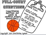 Full-Court Questions + Homework Hoops Bundle! Questions, games, & homework