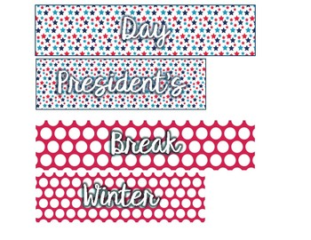 Full Day Stickers for Erin Condren Teacher Planner