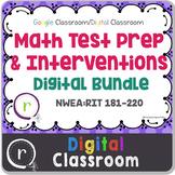 Standardized Test Prep Math Full Bundle RIT Band 181-220 G