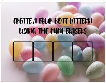 Full Easter Mini Eraser Composition