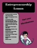 Full Entrepreneurship Lesson- Microbusiness Creation and M