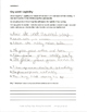 Full Handwriting Set- 5 Lessons to Improve Legibility for Grades 3 and Higher
