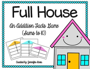 Full House: Game for Addition Facts to 10