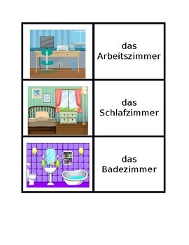 Haus (Full House in German) Concentration games
