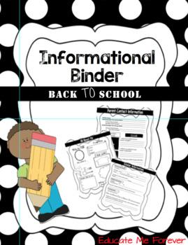 Full Informational Binder