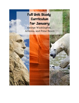 Full January Science and History Unit Study Bundle