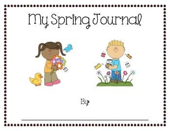 Full Kindergarten Spring Journal