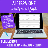 Full Lesson Algebra Calculator Skills Find Points on Graph Distance Learning