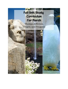 Full March History and Science Unit Study