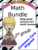 Full Math Bundle - Common Core Aligned - 5th grade NBT standards