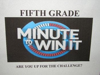 Minute to Win It Powerpoint w/ Timer