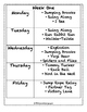 Full Month of PE Lesson Plans with 16 New Activities! - Set ONE