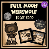 Full Moon/Werewolf Student Gift Tags