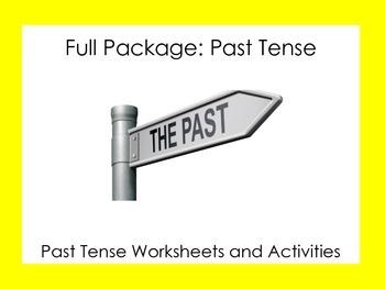 ESL: Full Package: Past Tense