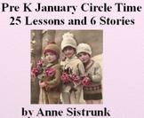 2013 January Lesson Plans: Pre-K, Kindergarten -  Winter, Activities, Stories