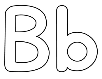 alphabet coloring pages upper lower - photo#5