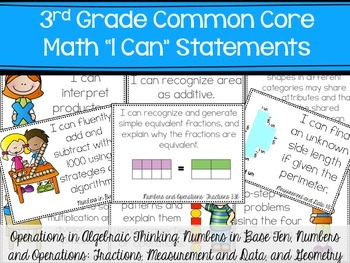Full Page Common Core Math I cans