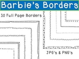 Full Page Doodle Borders/Frames