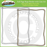 Full Page Rope Border