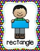 Shape Posters - Pre-K through 1st Grade - Colorful Polka Dots Theme