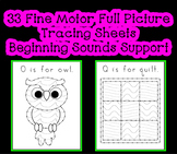 Full Picture Tracing Object Sheets ~ Fine Motor Beginning