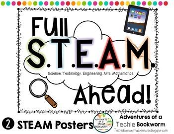 Full STEAM Ahead- Poster