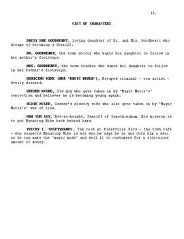 Full Play Script Melodrama: Magic Merle's Miracle Makeover Mush