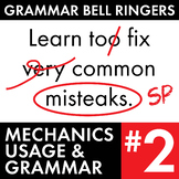 Full Semester #2 of Grammar, Proofreading Lessons to Improve Teen Writers