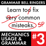 Full Semester #3 of Grammar, Proofreading Lessons to Improve Teen Writers