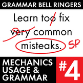 Full Semester #4 of Grammar, Proofreading Lessons to Improve Teen Writers