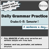 Full Semester of Daily Grammar for Middle School - Common