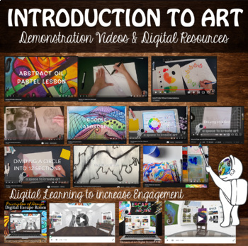 Full Semester of High School or Middle School Art - Elements & Principles of Art