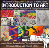 *Introduction to Art for High School or Middle School Art Curriculum + Digital