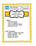 Full Unit - Measurement - Meets BOTH Ontario 7/8 Measurement Expectations
