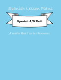 Full Unit Plan about Public and Private Identities for AP Spanish