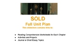 Full Unit Plan for SOLD by Patricia McCormick