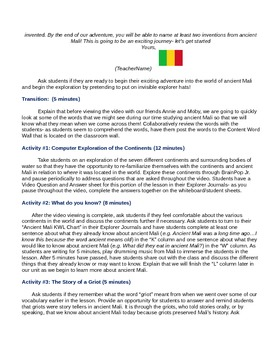 Full Unit and Materials on Ancient Mali