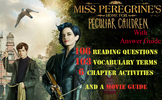 Full Unit for Miss Peregrine's Home for Peculiar Children by Ransom Riggs
