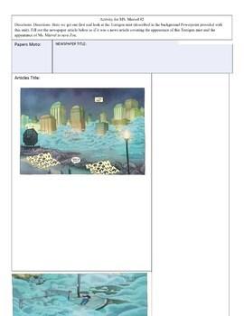 Full Unit for Ms. Marvel (2014) Issues 1-19