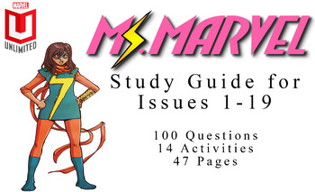 Full Unit for Ms. Marvel (2014) Issues 1-19