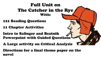 Full Unit for The Catcher in the Rye