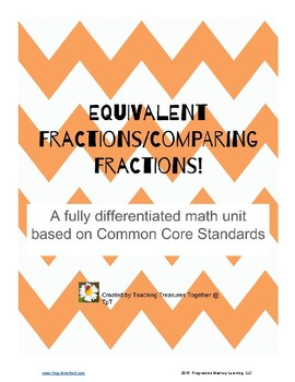 Full Unit on Comparing Frations! Differentiated!