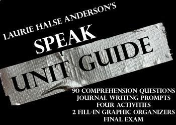 Full Unit on Laurie Anderson's Novel Speak