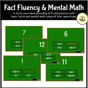 Fact Fluency & Critical Thinking :  All Operations