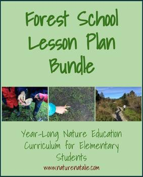 Full Year 20-Lesson Forest School Bundle--Nature Ed for Elementary Students
