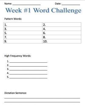 Full Year 2nd Grade Word Study