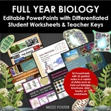 Full Year Biology Essentials: PowerPoints and Guided Notes