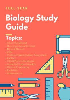 Full Year Biology Study Guide