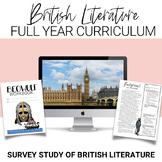 Full-Year British Literature Curriculum