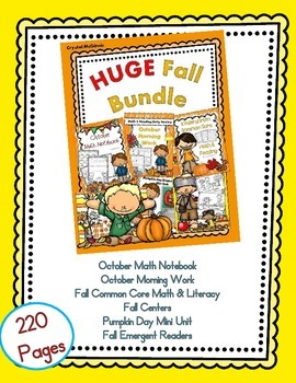 Full Year Bundle Part One! Fall, Thanksgiving, Christmas, Winter BUNDLES